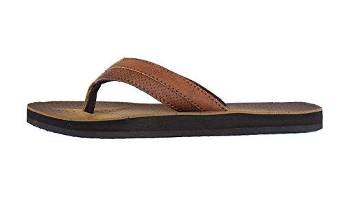 fafe9f14731 RDVOL Men s Beach Sandals Stylish Dressy Flip Flop Casual Luxury