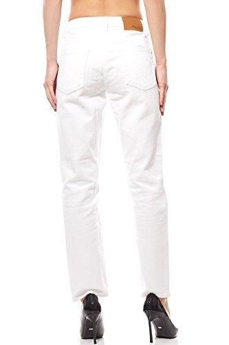Femme Aniston Short Détruits Blanc Jeans 0f0WqnRPT
