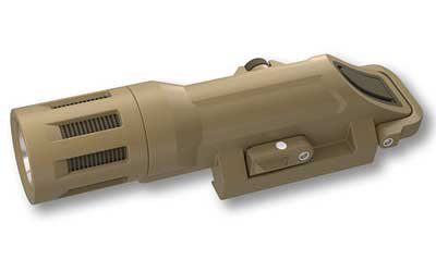 InForce WMLX Multifunction 500 Lu. Weapon Mounted Light, White LED, Flat Dark Earth INF-WMLX-F-W