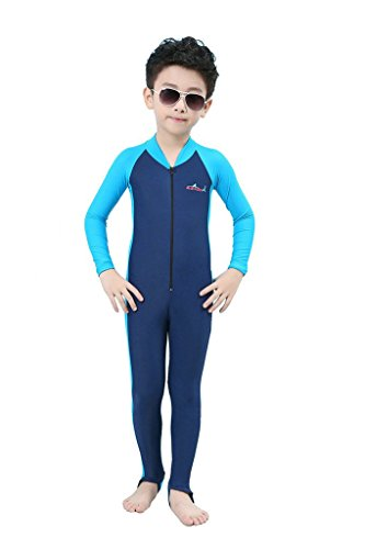 Labelar Sun Protection Swimwear Stinger Suit Full Body Swimsuit for Boys and Girls (Swimwear Sun Protection compare prices)