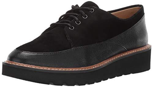 247 Almond (Naturalizer Women's Auburn Oxford, Black Leather, 11 M US)