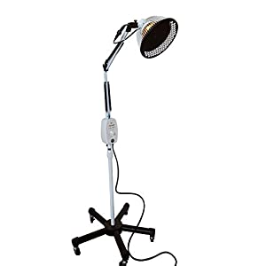 TDP Mineral Lamp - 3rd Generation VITA ACTIVATE Far Infrared Heat Lamp, 6.5 inch mineral plate + Detachable Head   Improved Protection Cap New Safety Head