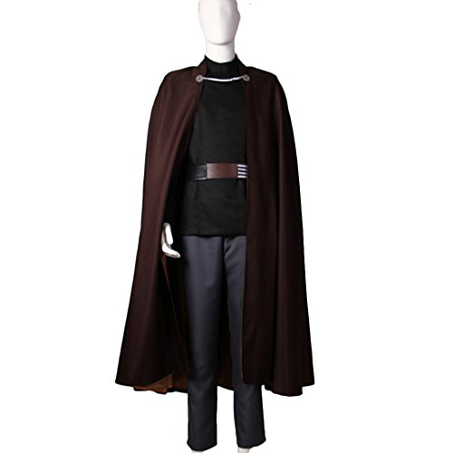 XCOSER Count Dooku Cosplay Mens Imperial Officer Costume Outfits for Halloween M ()