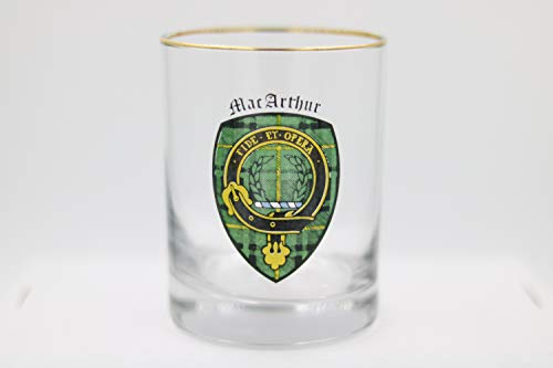 Clan Crest Glass MacArthur ()