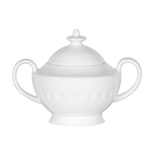 Mikasa Taylor Bone China Sugar Bowl, 10-Ounce