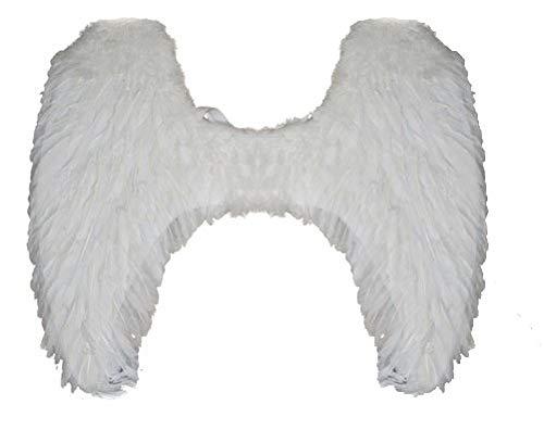 Lote/Conjunto de 3 Piezas - 65 cm de Ancho alas del ángel de la Pluma Blanca