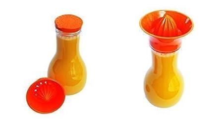 Compra Botella con exprimidor y tapa - Naranja - Licuadora ...