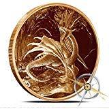 Osborne Mint Nidhoggr 1 oz Copper Round Nordic Creatures
