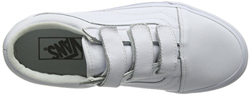 Vans Skool Trainers Old White Adults' True V Unisex OwrtOPqz