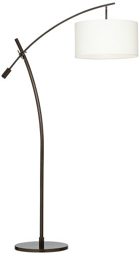 Possini Euro Bronze Finish Boom Arched Floor Lamp