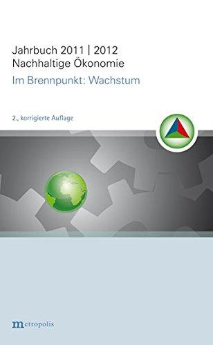 Jahrbuch Nachhaltige Ökonomie: im Brennpunkt