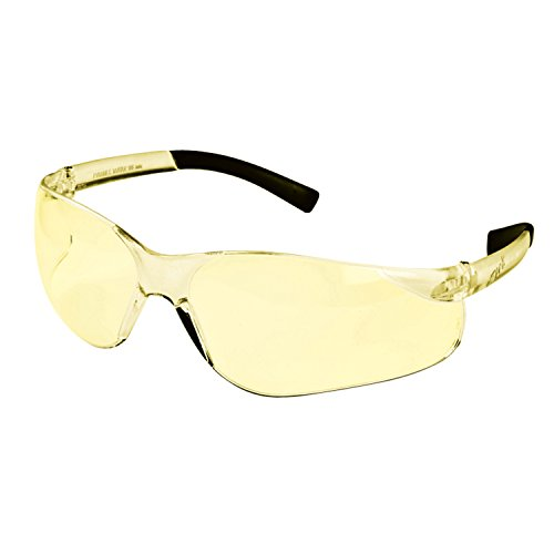 Shooting Glasses Yellow Lenses - Mossy Oak Hunting Accessories Arcola MO-AY Shooting Glass Yellow Lenses, Clear