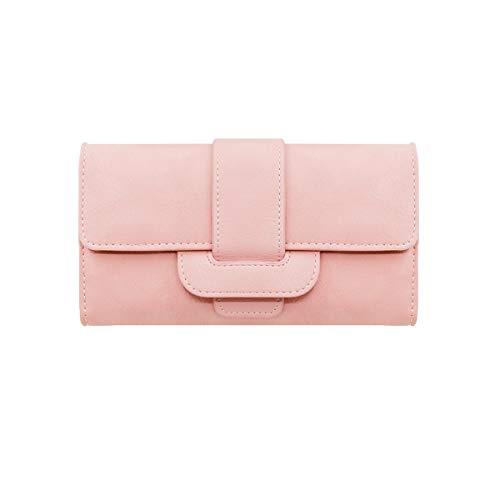 53bd62a228 Ultimo Viaggio Carte Donna Viaggio Stile Alta Doppio Pink Frizione  Shengshihuizhong Pacchetto Di Da Grande Qualità In Portafoglio Pelle ...