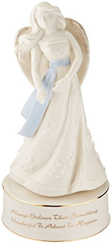 Lenox Gifts of Grace Musical Believe Angel Figurine (Grace Angel Figurine)