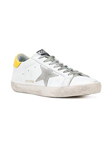 Verkauf Mit Paypal 2018 Neueste Herren G32ms590e83 Weiss Leder Sneakers Golden Goose J2ar4bmSVG
