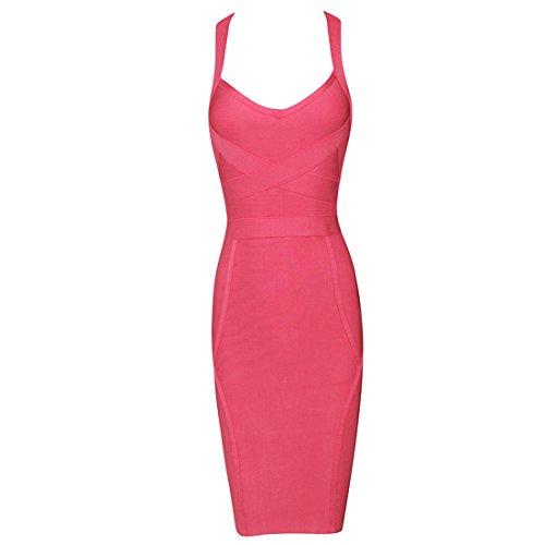 Kleid Pink Rosa Rosa HLBCBG Damen Pink Yq50Wf