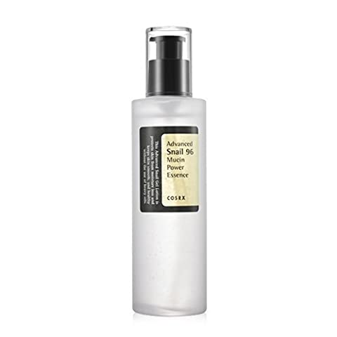 Cosrx - Advanced Snail 96 Mucin Power Essence with 96% of the snail mucin concentrate for men and woman - Day Care - Night Care - Skin Care - Anti Wrinkle (Snail Bee Essence)