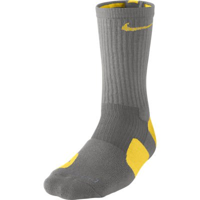 523731cf06dd9 Galleon - Nike Dri-Fit Elite Basketball Socks (X-Large, SPORT GREY ...
