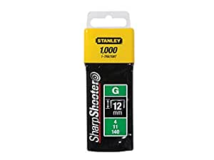 Stanley 1-TRA708T - Grapa tipo G (4/11/140) 12mm - 1000 u.