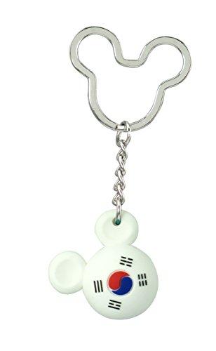 Disney Mickey Icon Ball Key Ring - South Korea Key Accessory ()