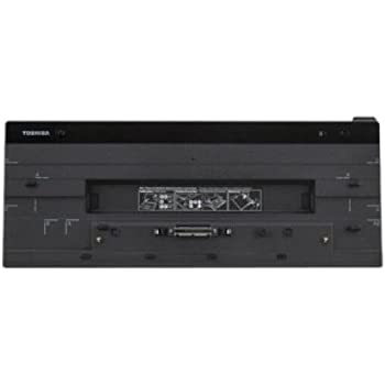 Toshiba PA5116U-2PRP Hi-Speed Port Replicator III 120W USB 3.0 Docking Station