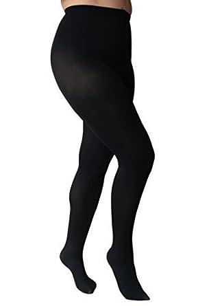 fba5cc84123bc Essexee Legs Women's Plus Size Opaque Tights. EL529. 100DEN. 1 Pair ...