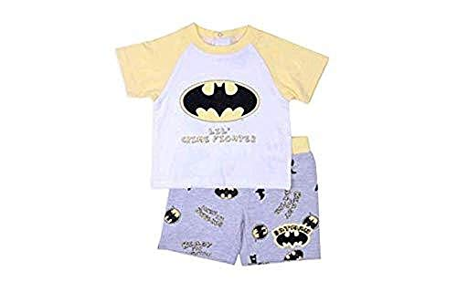 Batman Crime Fighter - Baby Boys Batman Lil' Crime Fighter T-Shirt & Shorts 2 Piece Set (6-9 Months)
