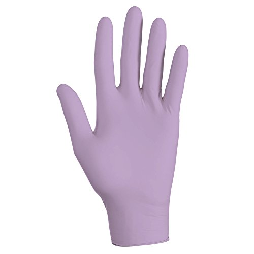 Kimberly Clark Safety 52818 Nitrile Exam Gloves, Medium, Lavender (Pack of 250)