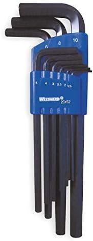 30pc Metric and Imperial AF SAE Allen Hex Keys 0.7mm 10mm 0.028-3//8