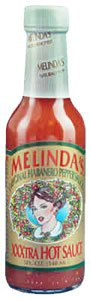 Garlic Habanero Pepper - Melindas Original Habanero Pepper Sauce XXXtra Hot 5 oz