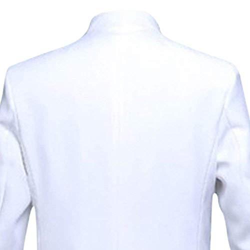 Classique Tuxedo Flash Slim Noce Garçons Hommes De Vestes Soirée Pour Dazzling Blanc Blazer Costume Veste Fit Coupe Design PfwzqxO