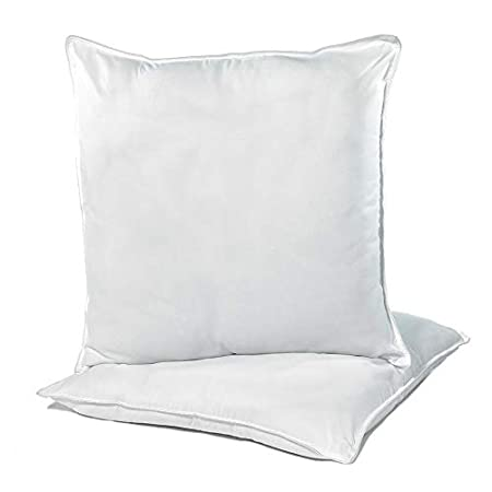 Microfibre Bounce Back Pillow Piped Edge Finish Pack of 2 Pillows