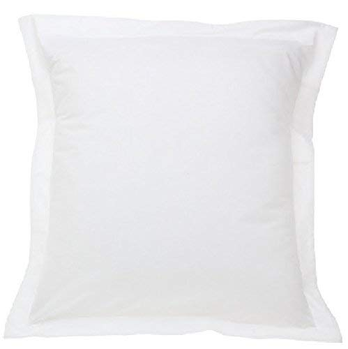 A Set of Three  Solid White Pillow Shams 650 Thread Count 10