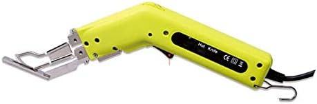 ファブリックカーテンロープカッティングのためのカッティングフット付き100W手動電気ホットナイフカッター