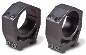 Vortex Optics Precision Matched Rings 30mm - Height 1.26 inches - Picatinny Mount