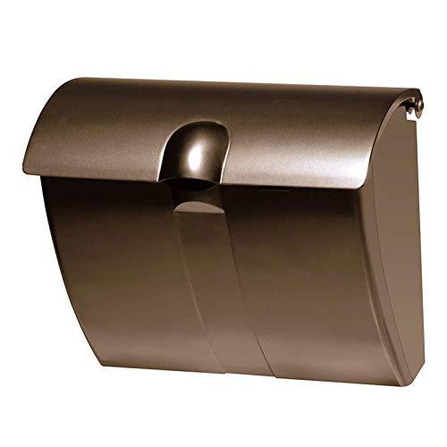 三協アルミ 郵便ポスト JWHP型 壁掛けポスト 壁付け金具付ダイヤル鍵付 JWHP-1D型 ブロンズ  ブロンズ B00RFNBGBW