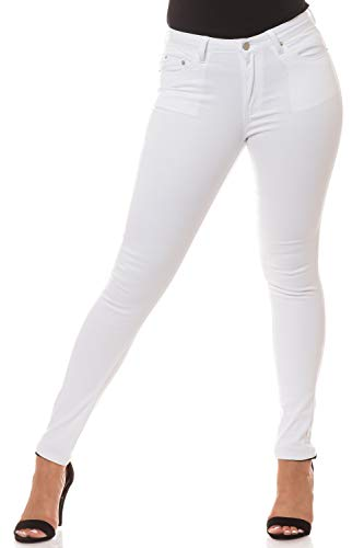 Aphrodite Semi High Waisted Jeans for Women - High Rise Waist Skinny Womens 30