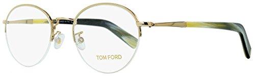 Tom Ford Eyeglasses TF 5334 Eyeglasses 032 Gold and beige horn - Ford Tom Eyewear Men