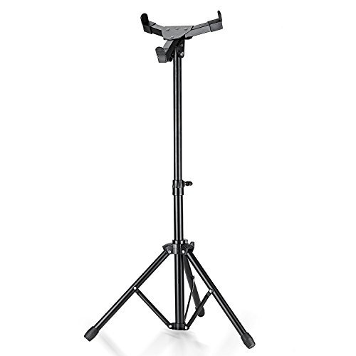 Neewer® Aluminum Alloy Extendable Adjustable Practice Drum Pad Three-legged Stand,19 Inch/49cm,Fits Drum Pad of Diameter 9.4inch/24cm or Less