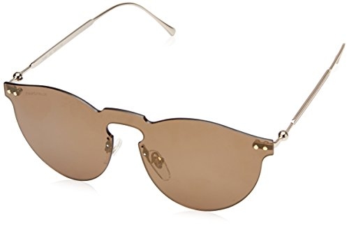 Fastrack UV Protected Round Women's Sunglasses – (U005BR3F|100|Brown Color)