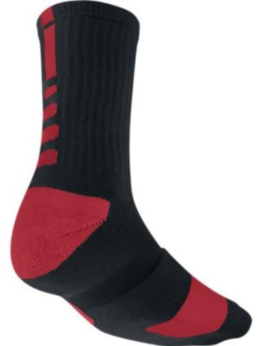 Nike Elite Performance Sock - Black/Red Large