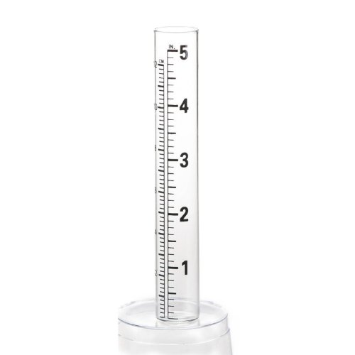 Replacement Glass Tube for Rain Gauge (Rain Gauge Vial Replacement)