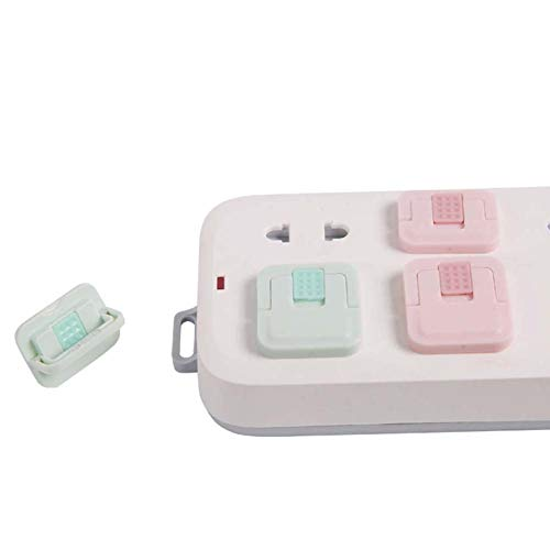 31MicNKIkPL PCTC Electrical Safety Baby Products Outlet Plugs Covers Safe & Secure Electric Plug Protectors    Material: ABS plastic; Weight: 0.02 kg; Three-hole cover size: 32*30mm; two-hole cover size: 30*22mm;