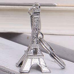 Amazon.com: Rarido Torre Eiffel Tower Keychain for Keys ...