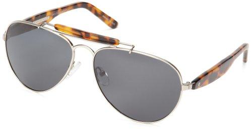 eco Austin Aviator Sunglasses, Silver, 59 - Austin Sunglasses