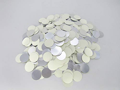 45mm plástico laminado papel de aluminio tapa Liners para inducción sellado, Plateado, 10000pcs, 1