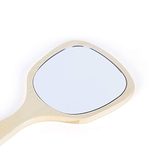 CTO Espejo pequeño Especial del salón de Belleza CZZ, Espejo de la manija, Espejo semipermanente Retro del Tatuaje de la...