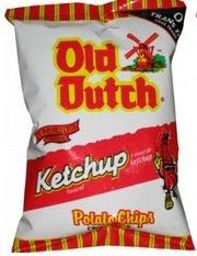 Old Dutch Ketchup Chips - 40g/1.411oz - Ketchup Chips