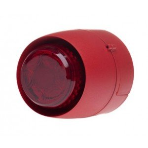 universal firealarm 32 tone 24v combination sounder beacon deep base vtb-32e-db-rb