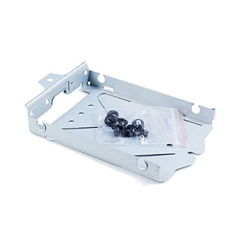 w Internal HDD Hard Disk Drive Holder Bracket Tray Carrier with Screws & Gasket for Sony Playstation 4 PS4 Pro Game Console Replacement Repair Spare Parts Accessories ()